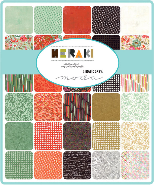 Meraki by Basic Grey Jelly Roll - Moda Fabrics