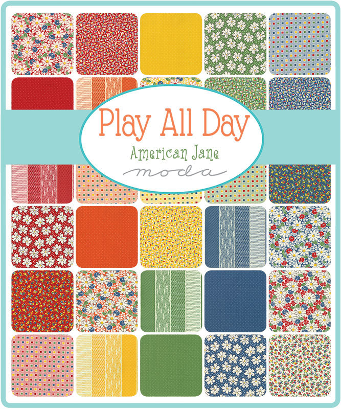 Play All Day by American Jane Layer Cake - Moda Fabrics