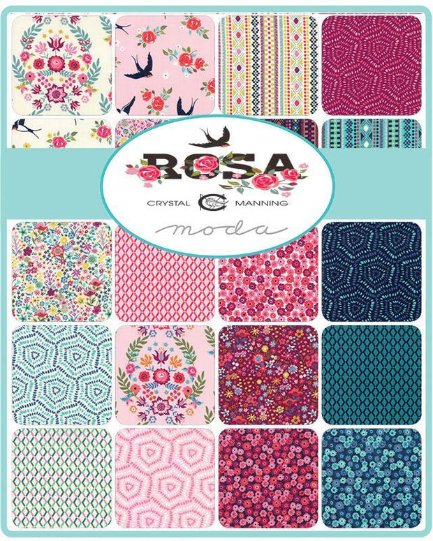 Rosa by Crystal Manning Charm Pack - Moda Fabrics