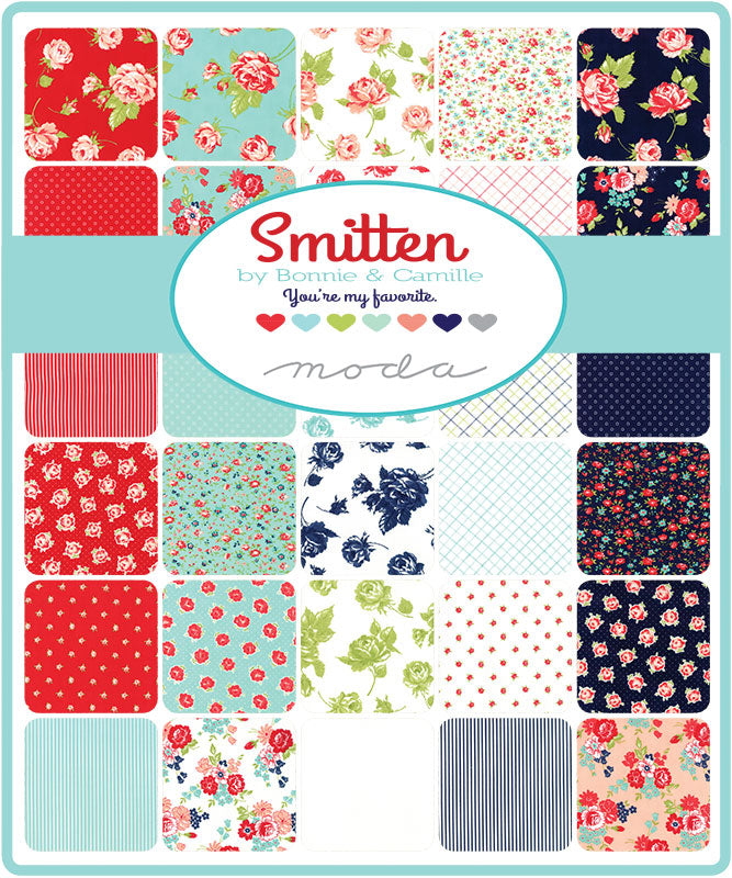 Smitten by Bonnie & Camille Layer Cake - Moda Fabrics