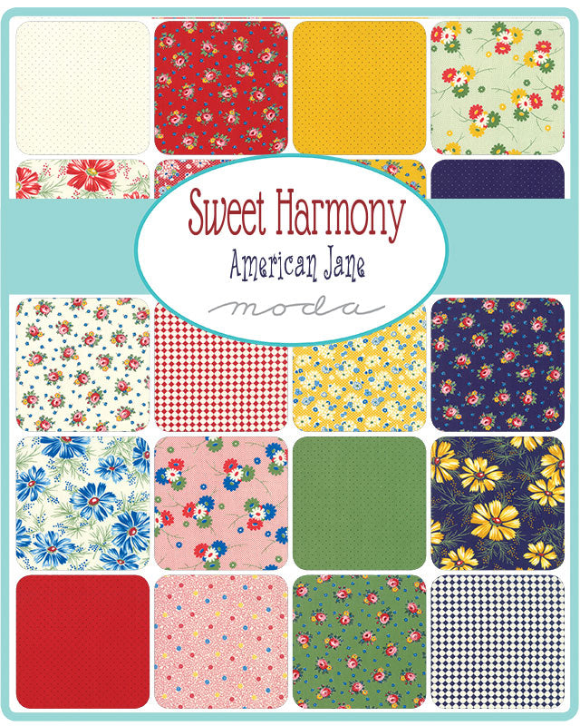 Sweet Harmony by American Jane Mini Charm Pack - Moda Fabrics