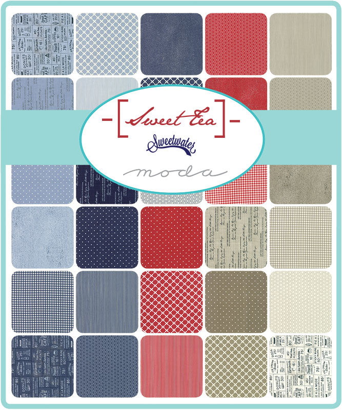 Sweet Tea by Sweetwater Jelly Roll - Moda Fabrics
