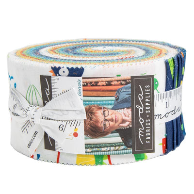 Later Alligator by Sandy Gervais Jelly Roll - Moda Fabrics