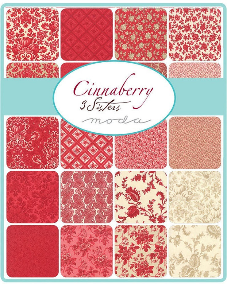 Cinnaberry by 3 Sisters Layer Cake - Moda Fabrics