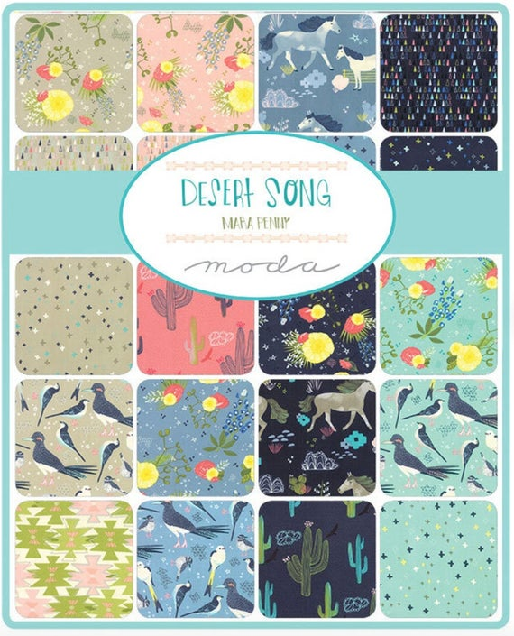 Desert Song by Mara Penny Layer Cake - Moda Fabrics