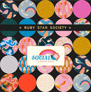 Social and Spark by Melody Miller Charm Pack - Ruby Star Society and Moda Fabrics