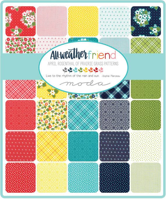 All Weather Friend by April Rosenthal Charm Pack - Moda Fabrics