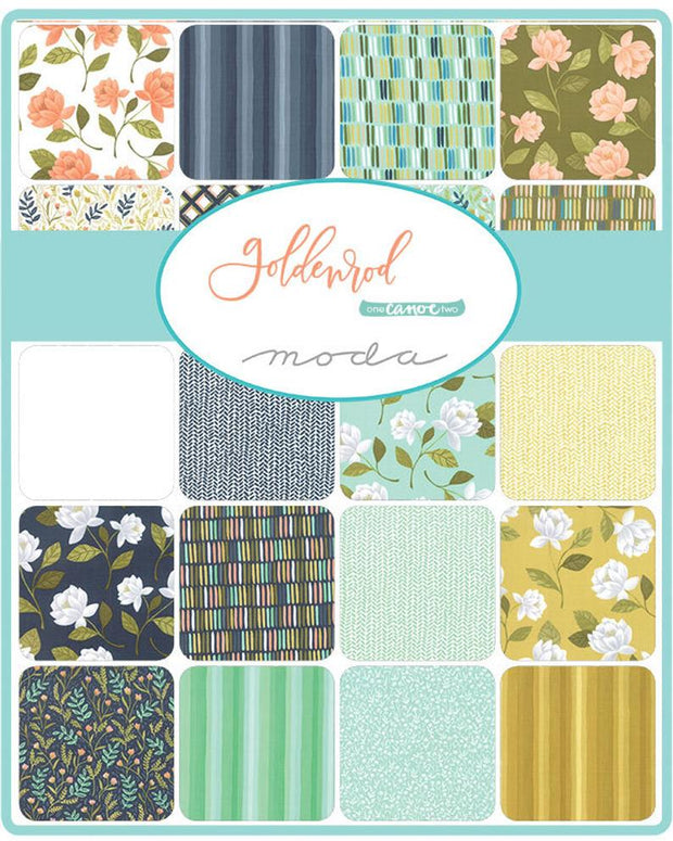 Goldenrod by One Canoe Two Charm Pack - Moda Fabrics