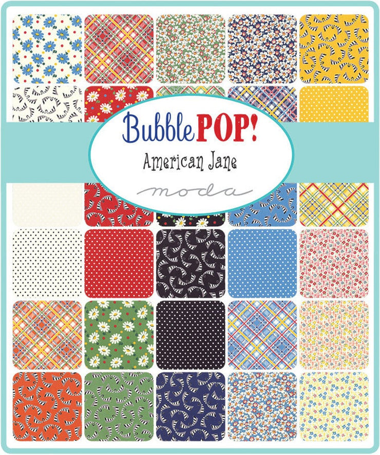 Bubble Pop! by American Jane Charm Pack - Moda Fabrics