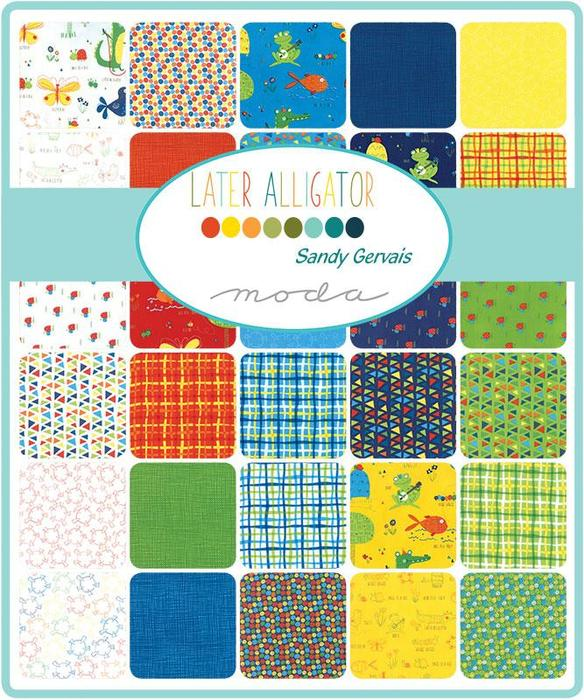 Later Alligator by Sandy Gervais Layer Cake - Moda Fabrics