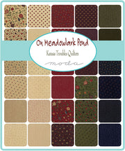 On Meadowlark Pond by Kansas Troubles Quilters Layer Cake - Moda Fabrics
