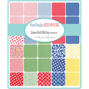 Feed Sacks: Red Rover by Linzee McCray Layer Cake - Moda Fabrics