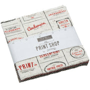 The Print Shop by Sweetwater Charm Pack - Moda Fabrics