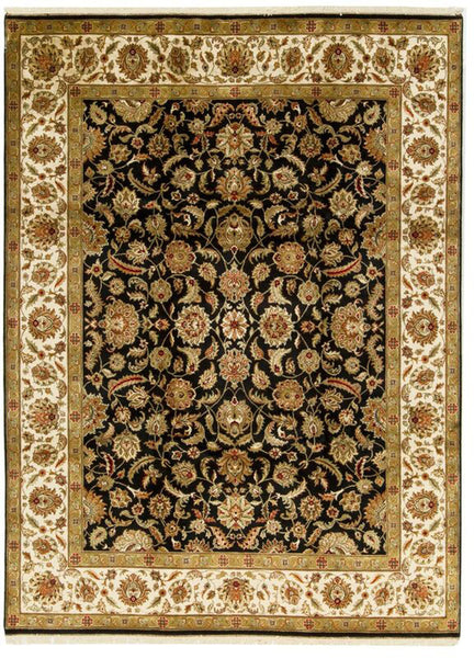 BOKARA RUGS BLACK / IVORY CROWN SELECT