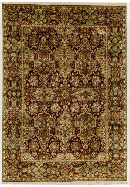 BOKARA RUGS RED / GREEN MOUNTAIN KING