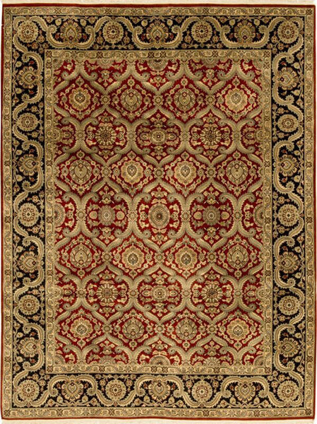 BOKARA RUGS RED / BLACK CROWN SELECT