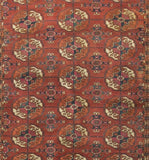 Bokara Rugs Multi Antique Russian Area Rug