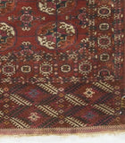 BOKARA RUGS MULTI ANTIQUE RUSSIAN : HAND WOVEN 100% WOOL