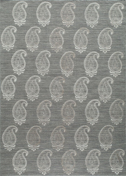 Momeni Lace Embroided  Lace0Lac-1Gry2030 Area Rug