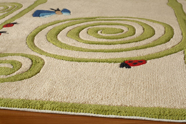 Momeni Lil Mo Whimsy  Lmojulmj50Ivy4060 Area Rug