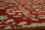 Momeni Suzani Hook  Suzhkszi-4Red2030 Area Rug
