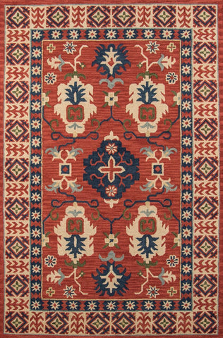 Momeni Tangier  Tangitan-3Red2030 Area Rug