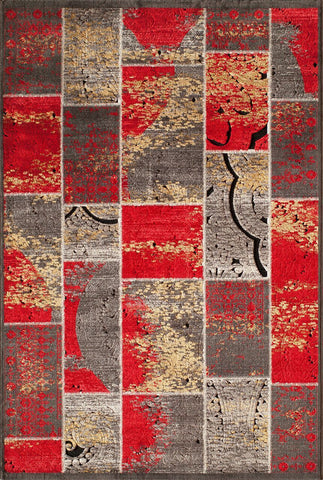 Momeni Vogue  Voguevg-01Red1827 Area Rug