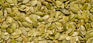 Raw, Organic & Nutz- Pumpin with Pumpkin seeds.