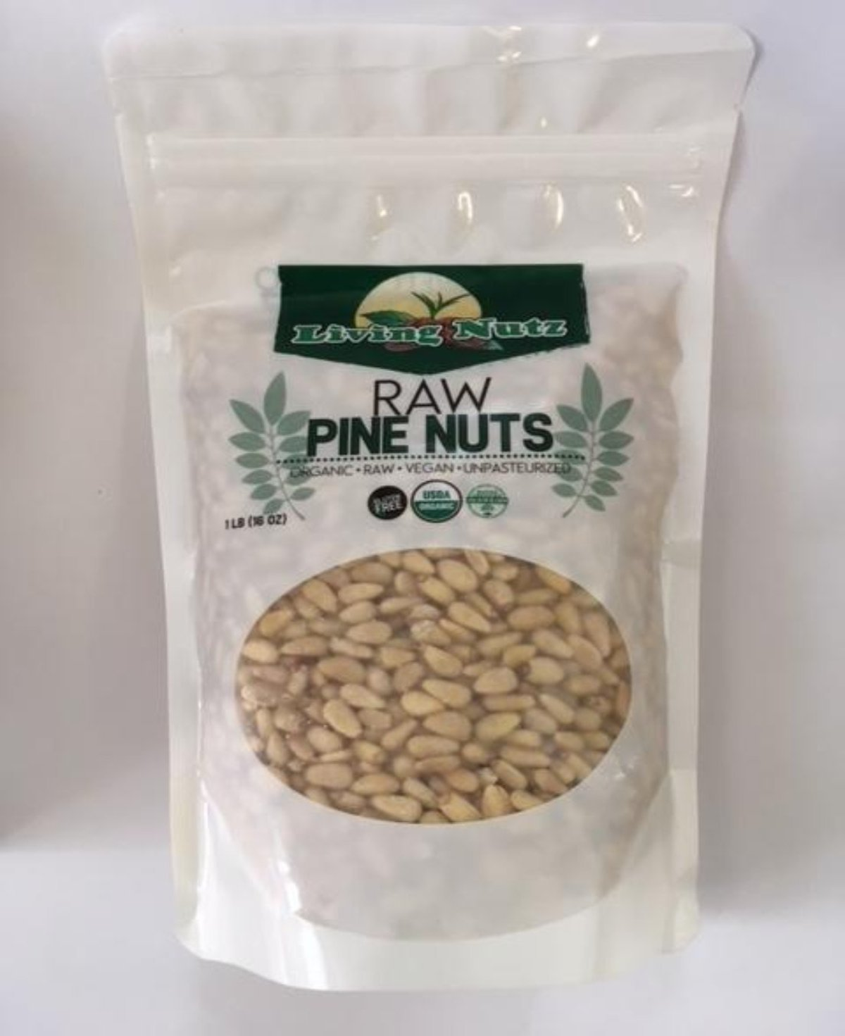 raw organic pine nuts for healthy benefits. Bulk organic pine nuts