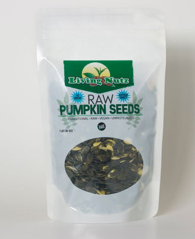 raw pumpkin seeds grown in the US.