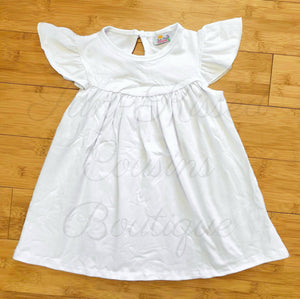 Pearl Top - White 4T, 5T