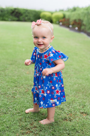 Patriotic Stars Pearl Dress