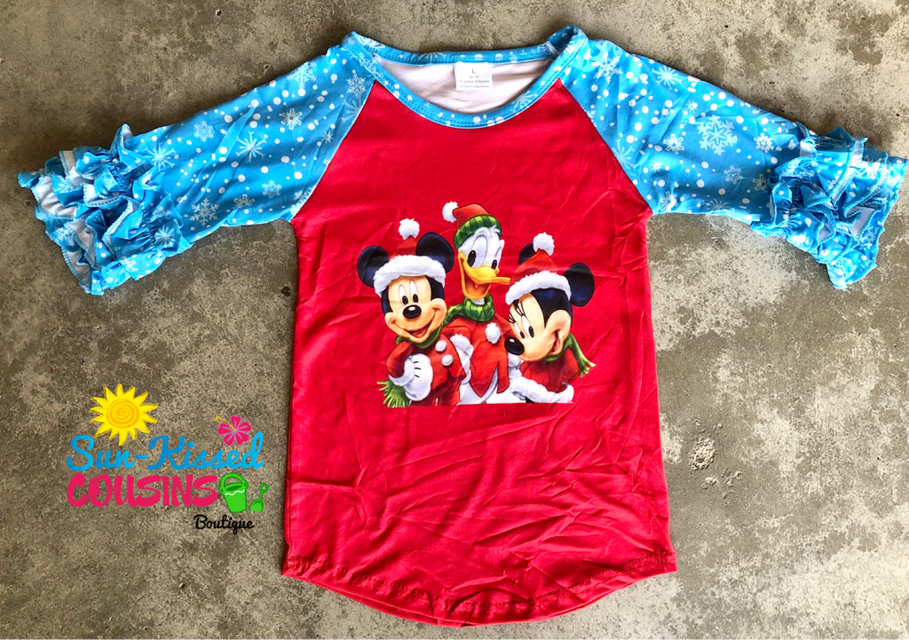 Mickey and Friends Raglan