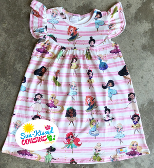 Dancing Princess Pearl Dress