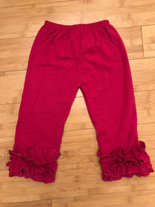 Icing Pants - Cranberry (size 3/6m)