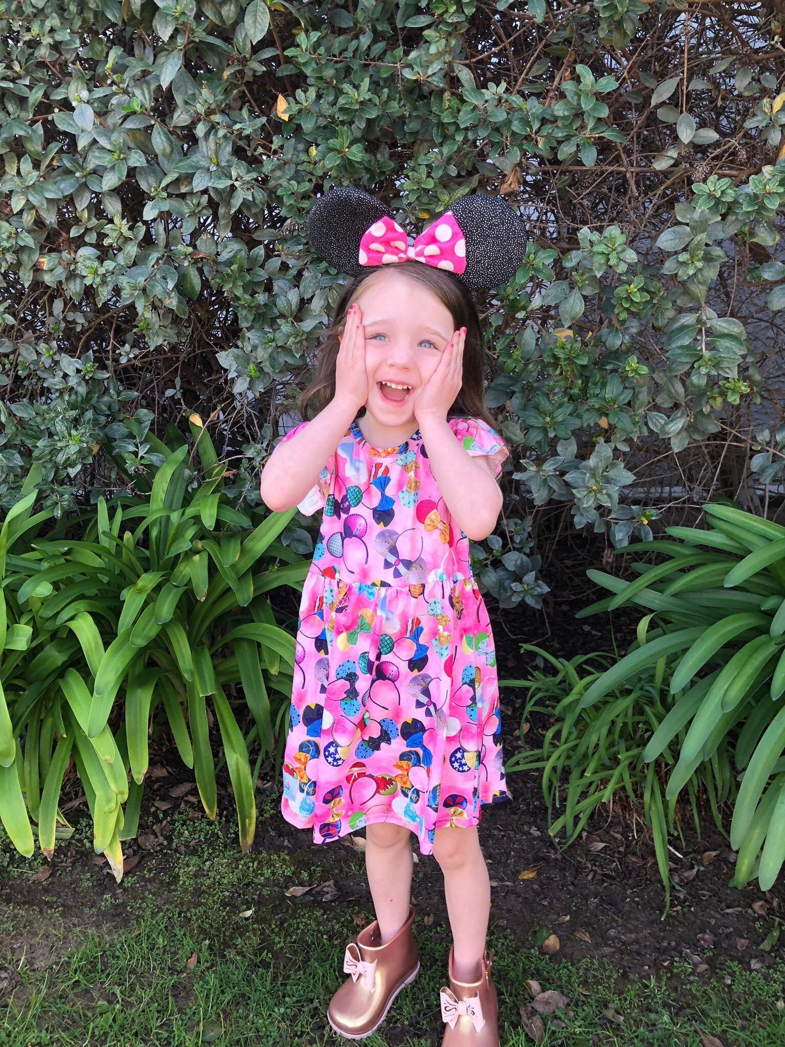 Mickey Ear Headband Dress
