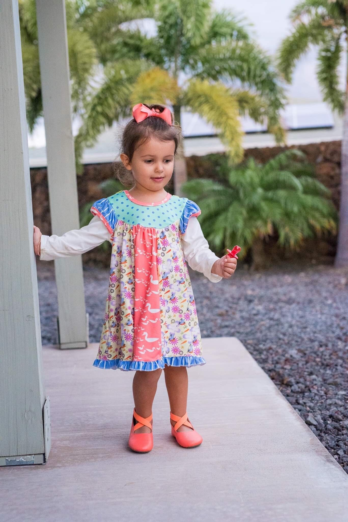 All Mixed Up - Spring Tunic & Pant Set