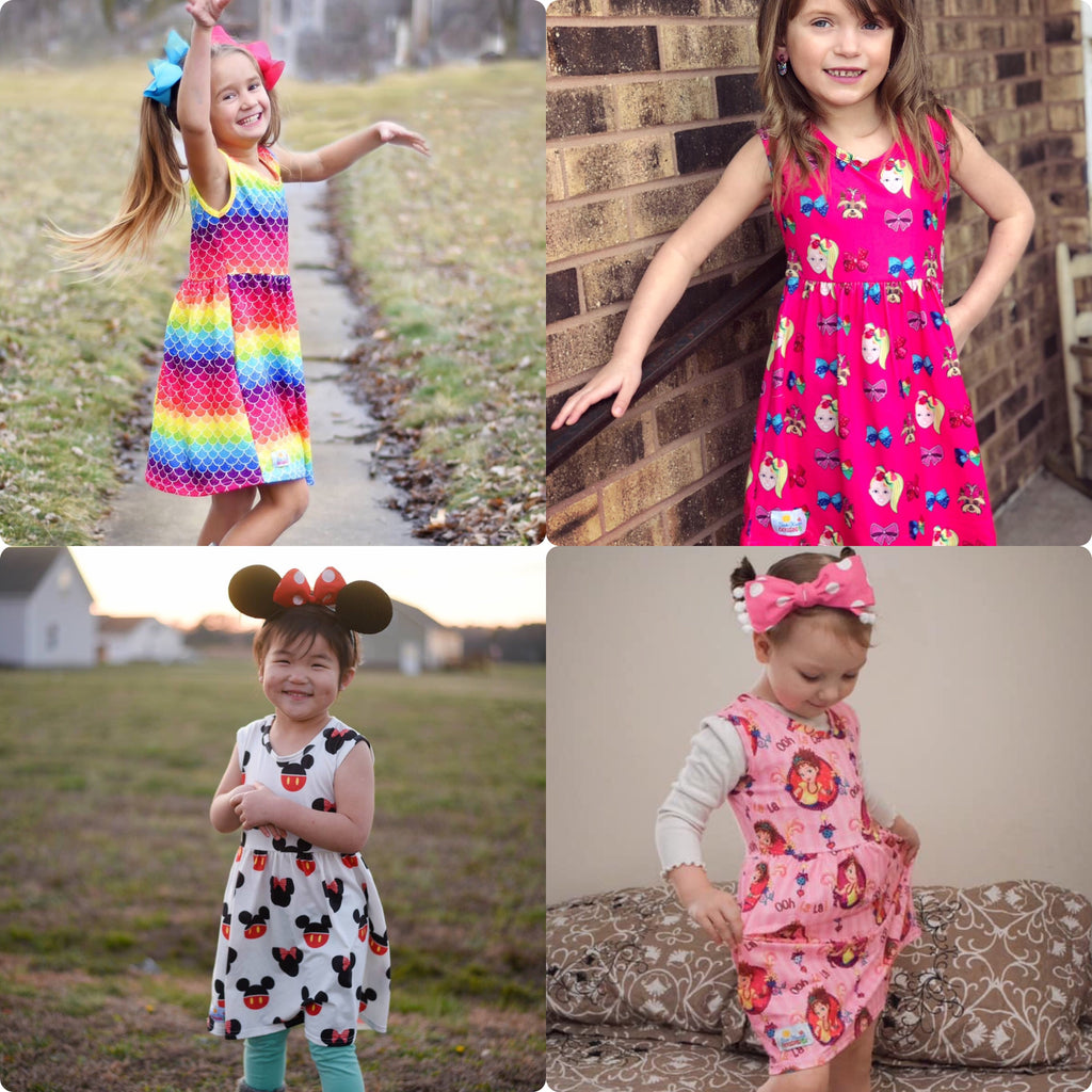 Tank Dresses (4 Options)