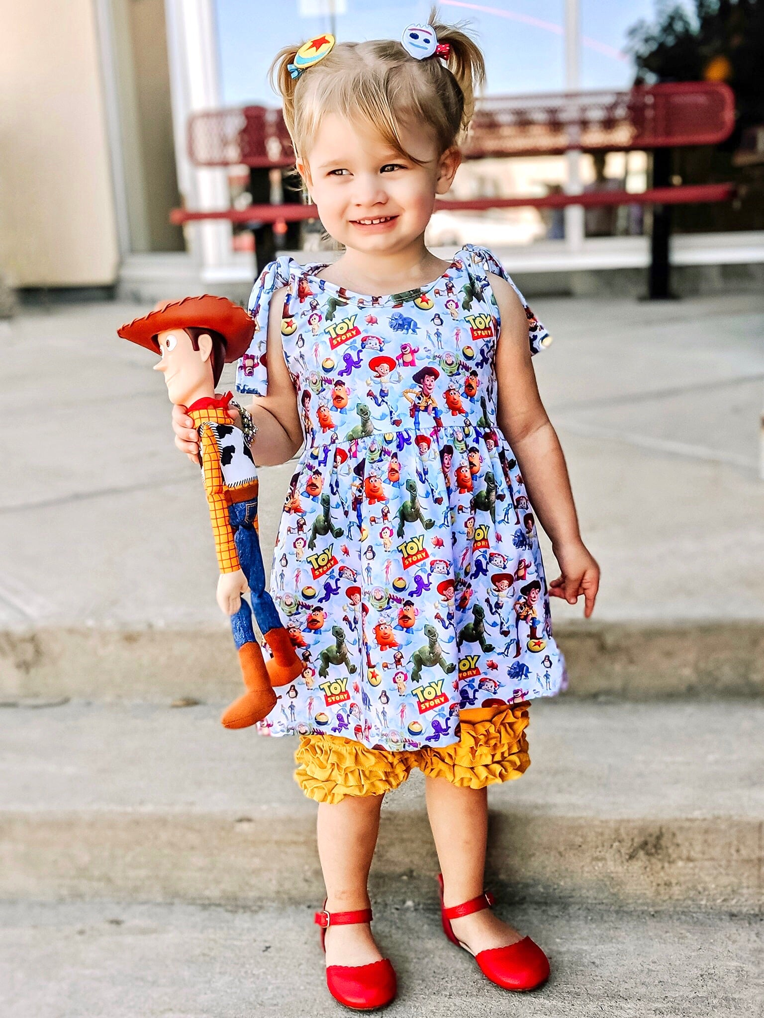 Toy Story Adjustable Knot Dress Set
