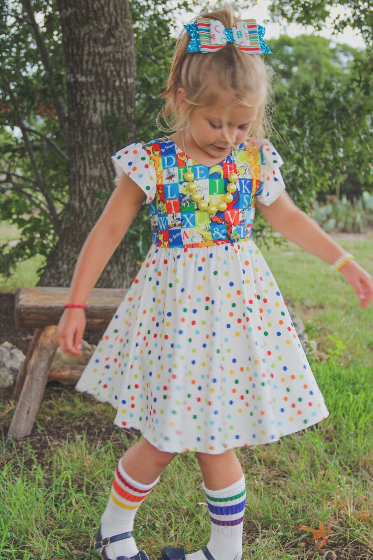 Dr. Seuss ABC Twirl Dress - 6/12m
