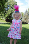 Trolls Sleeveless Twirl Dress