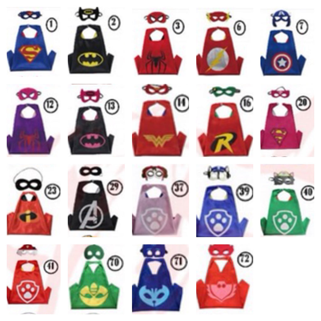 Superhero Cape with Mask