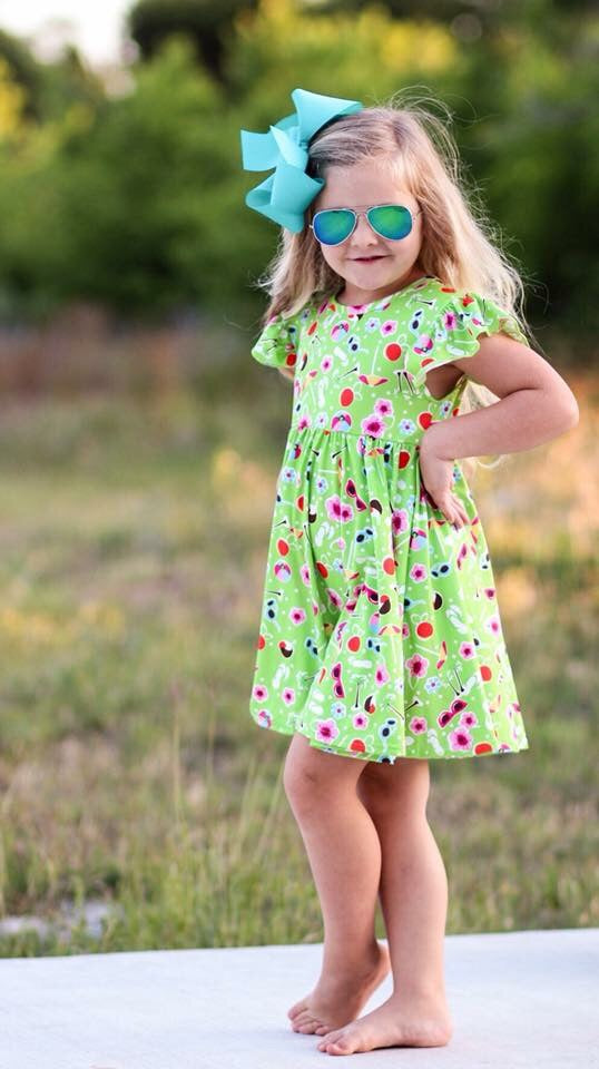 Summer Fun Twirl Dress