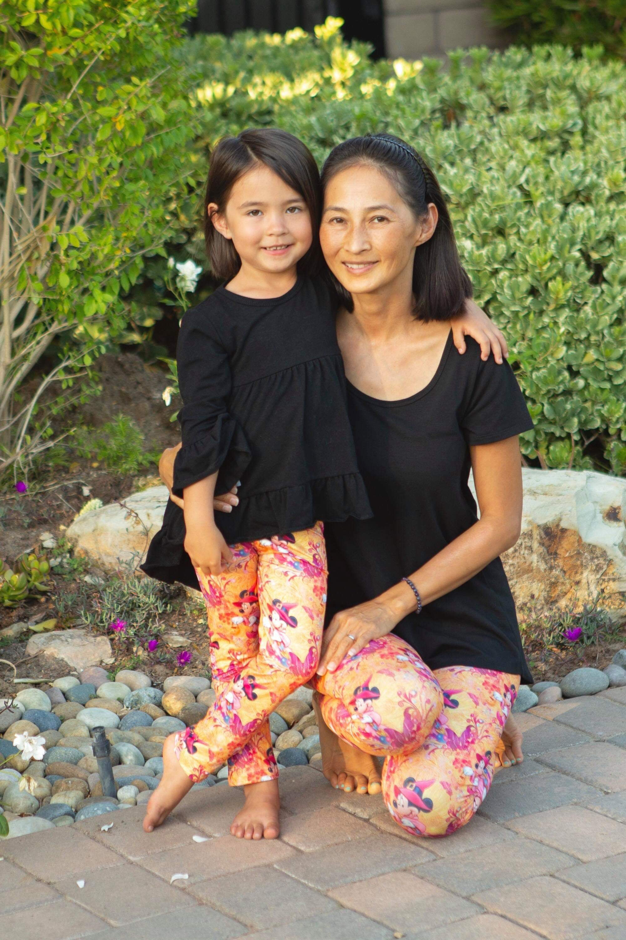 Witchy Minnie Mommy & Me Leggings