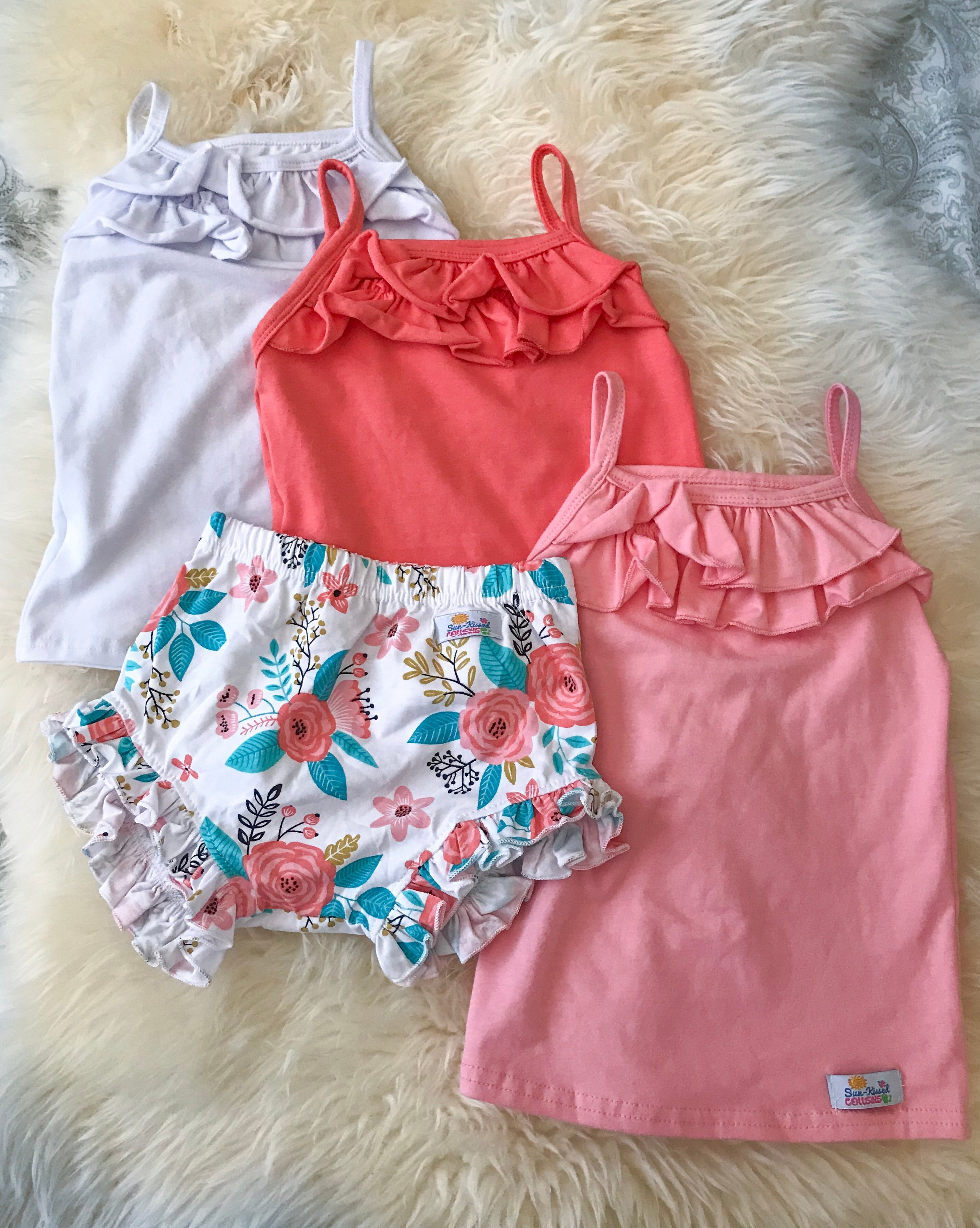 Bloomers - White Floral