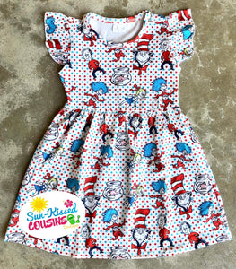 Dr. Seuss Cat in the Hat Dress