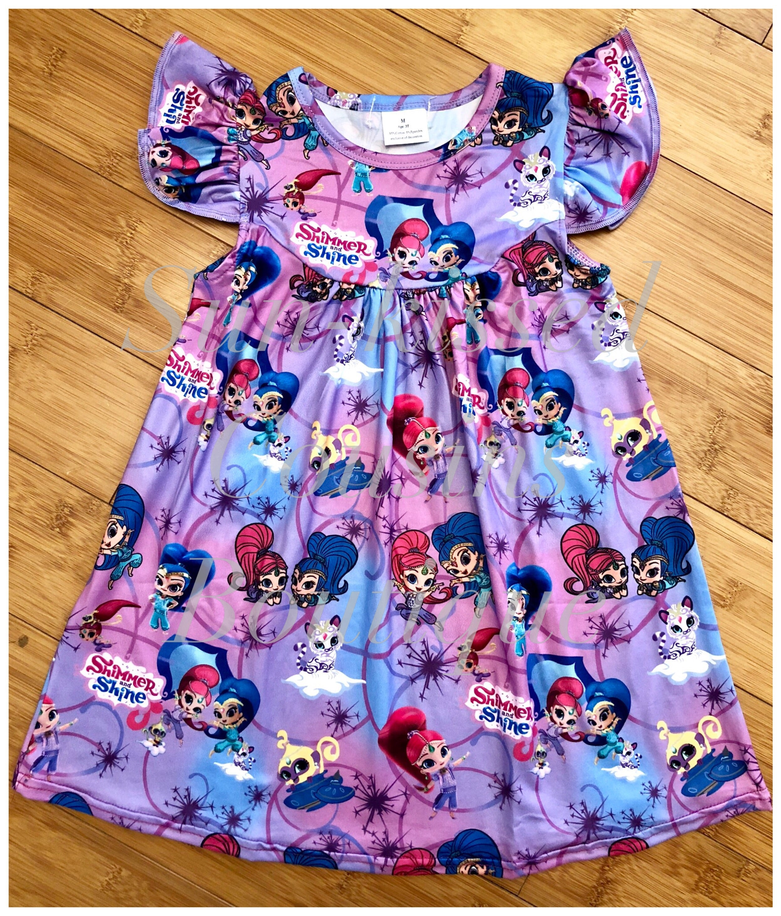 Shimmer and Shine Pearl Dress - sizes 6/12m, 12/18m, 2T