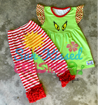 Mr. Grinch Icing Outfit