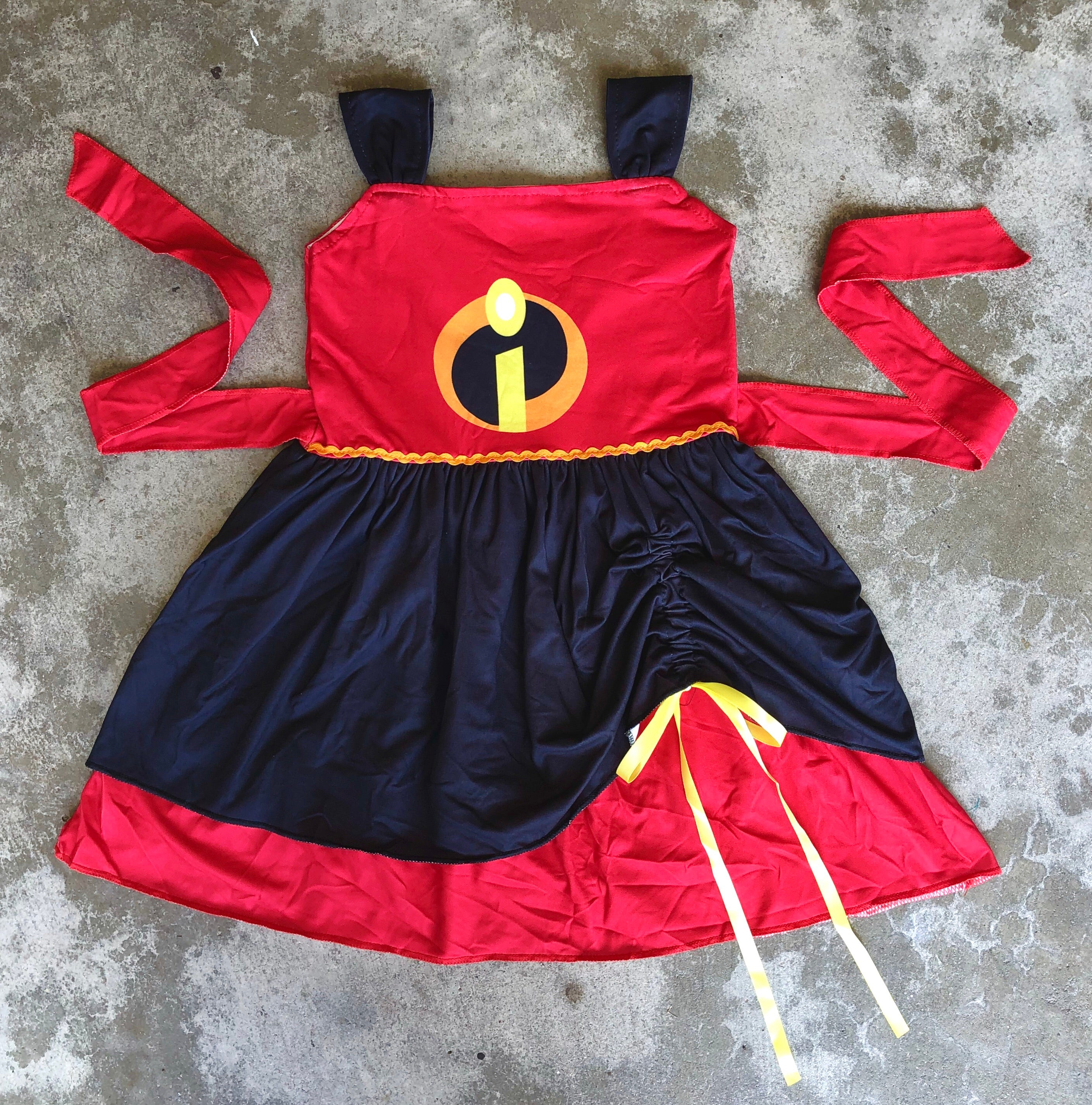 Incredibles Dress (LAST ONE, 2T)