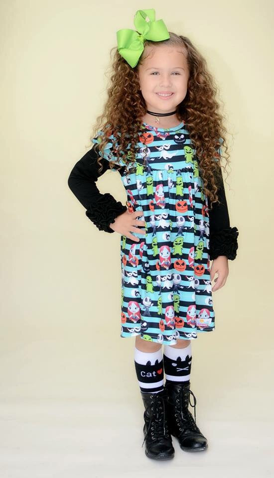 Nightmare Before Christmas Pearl Dress - size 12/18m